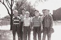 Sidney Lanier Grade School pals 1948