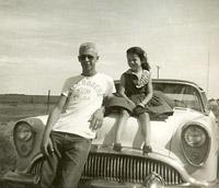 Phil & sister Linda - 1954