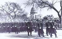 Phil with USNA 4th Battalion JFK's Inaugural Parade
